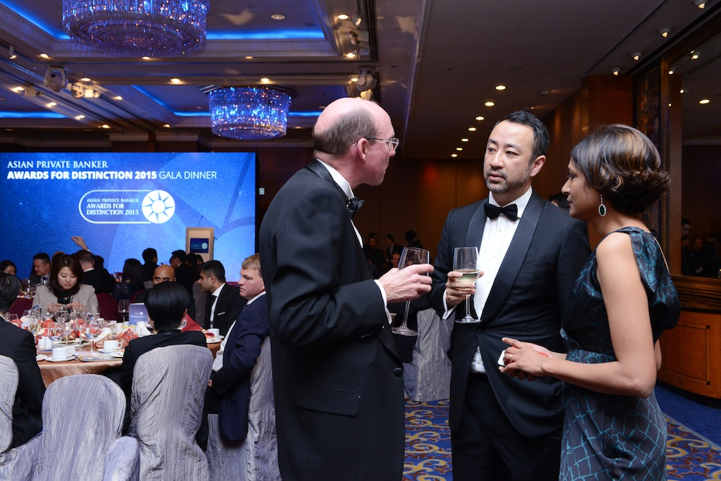 Andrew Shale, Asian Private Banker and Madhuri Chatterjee, Asian Private Banker