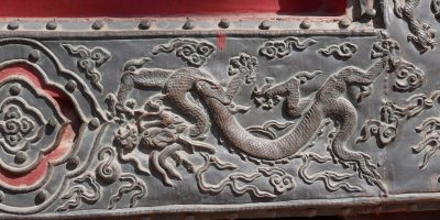 Old China Dragon Bronze