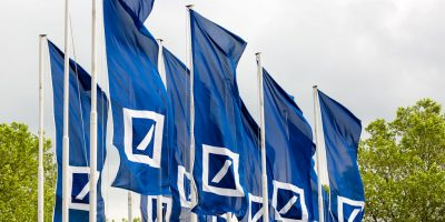 Deutsche Bank Banner Flag 1