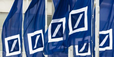 Deutsche Bank Banner Flag 2