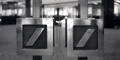 Deutsche Bank Door