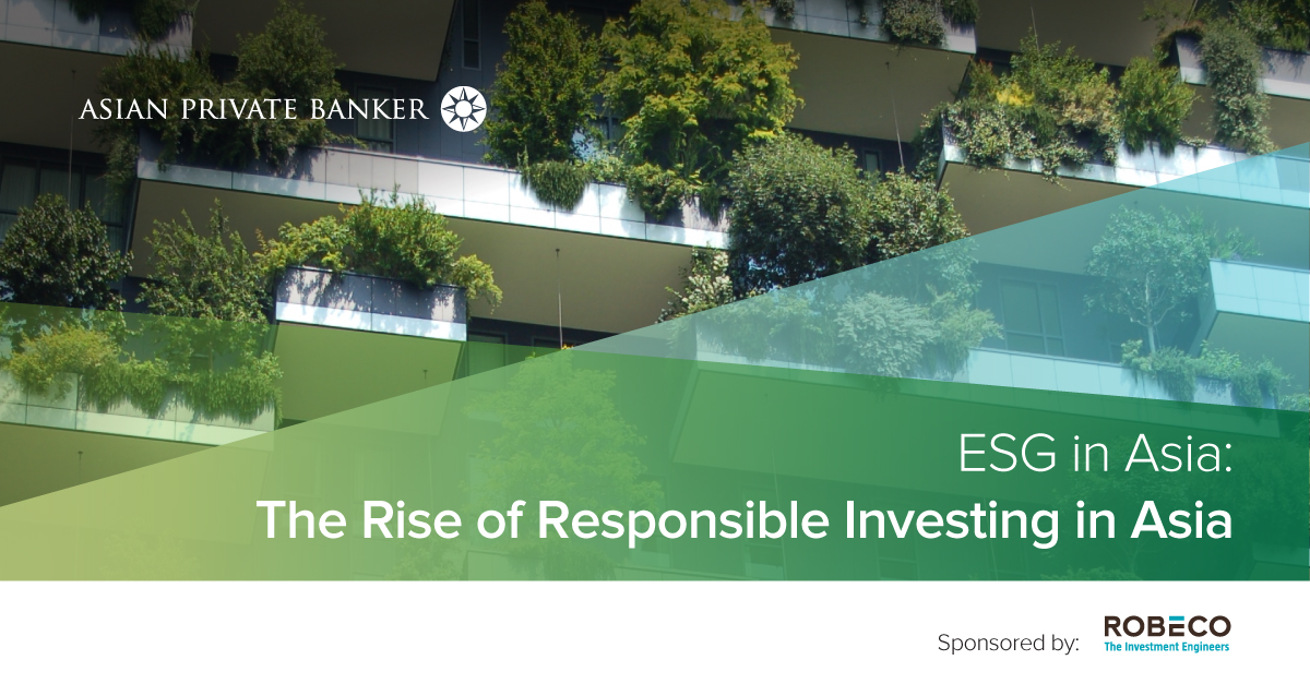 2018 ESG in Asia: The Rise of Responsible Investing in Asia