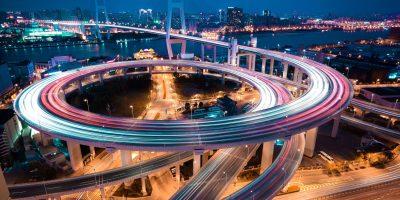 Shanghai spiral bridge_shutterstock_185853827