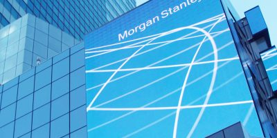 Morgan Stanley wave signage
