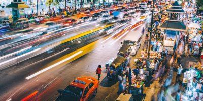 Bangkok Thailand street