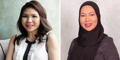 Left – Shirley Crystal Chua_ Right – Aziemah Abdullah