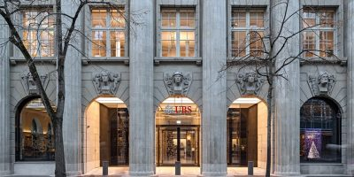 UBS HQ Zurich, Bahnhofstrasse Switzerland