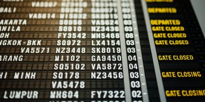 flights schedule delay closed