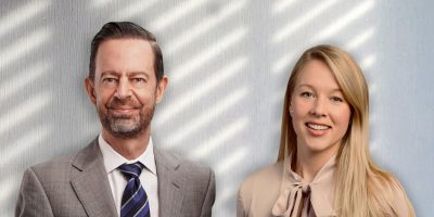 Mark Farrell (Left) and Amy Glover (Right)
